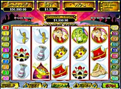 Machine a sous $$ Aladdins Wishes (Mobile) (Real time gaming) $$
