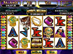 Machine a sous $$ Aztecs Millions (Mobile) (Real time gaming) $$