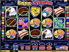 Machine a sous $$ Bars n Stripes (Mobile) (Microgaming) $$