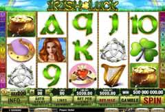 Irish Luck...